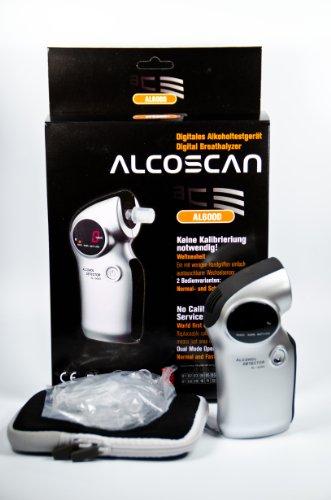 Digitaler Alkoholtester ACE AL6000 Professional mit Wechselsensor - 5