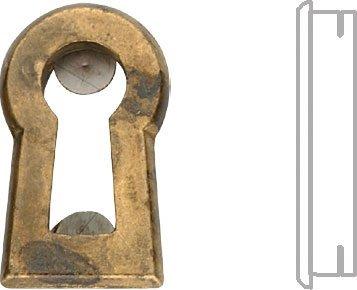 Einlege-Schlüsselblatt Biedermeier klein 24 x 14 - Qualität aus Europa seit 1998