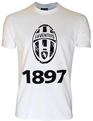 Juventus Turin Ragazzi T-shirt a maniche corte, collezione ufficiale, Ragazzo, bianco, 12 anni