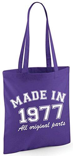 Made in 1976All Original Parts zum 40. Geburtstag Geschenk Tasche