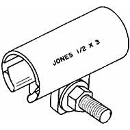 "Jones Stephens Corp. R30-075 Stainless Steel Repair Clamp-3/4"" REPAIR CLAMP"