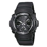 Casio G-Shock, AWG-M100B-1AER, Zonne-Energie En Radioklok, Zwart