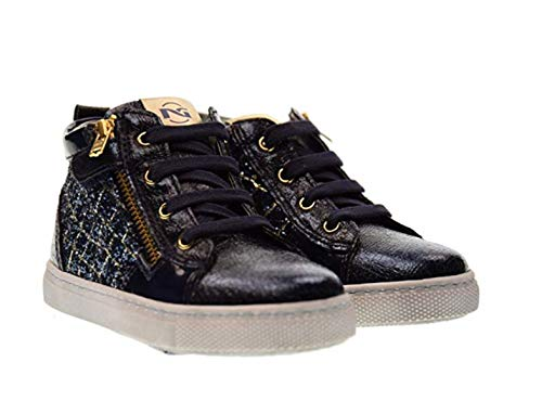 NERO GIARDINI chaussures de sport junior A722511F / 200 (18/22) OR BLEU taille 22 Bleu / or