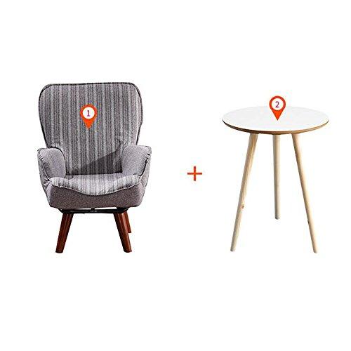 DEO Bureau d'ordinateur Canapé pour enfants Mignon petit canapé chaise de lecture en 3 couleurs durable (Couleur : Gris, taille : Chair and table)