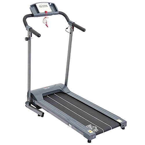 Homcom Laufband Elektrisches mit LED Display Heimtrainer Fitnessgerät 500 W, B1-0094 - 2