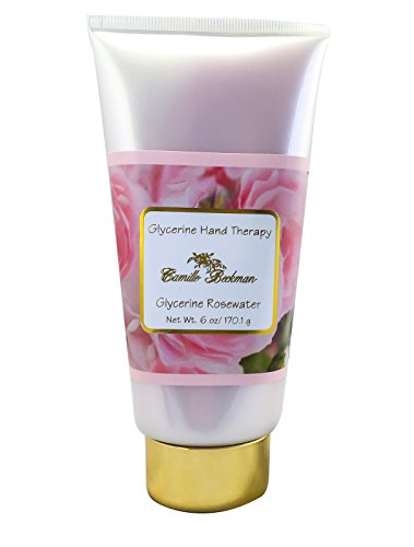 Camille Beckman Glycerin (Camille Beckman Glycerine Hand Therapy Cream 6 oz - Glycerine Rosewater Scent by Camille Beckman)