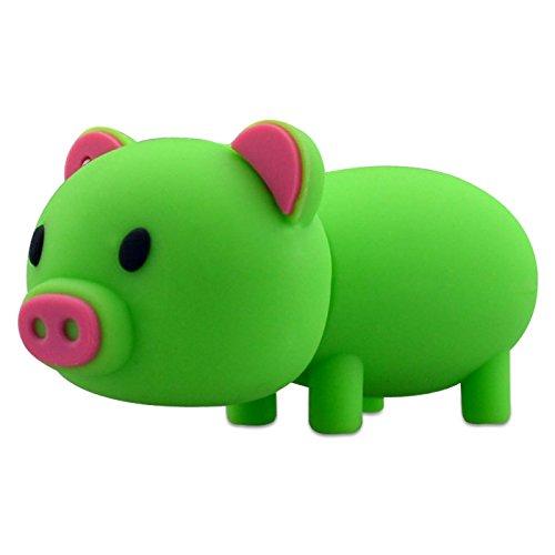 USB Flashdrive Schwein grün Speicherstick - 8GB - Ideal als Geschenk