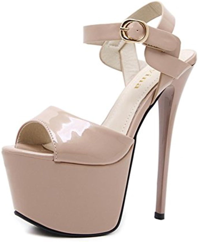 Donna Sexy Stiletto sandali alto Tacco Scarpe Scarpe Scarpe Caviglia Cinghia Fibbia Sbirciare Dito del piede Nero Lavoro Festa... | comfort  | Uomini/Donna Scarpa  fce14e