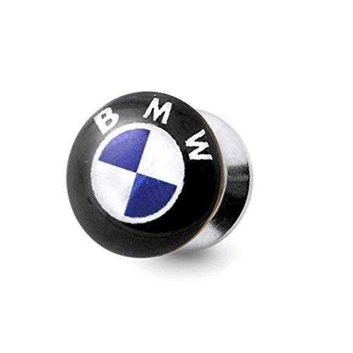 bijou-corps-tunnel-oreille-acier-chirurgical-vis-interne-logo-bmw-4mm-prix-pour-une-pice-uniquement