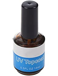 SODIAL(R) Top coat UV couche ¨¦clatante gel vernis brillant, manicure artistique!
