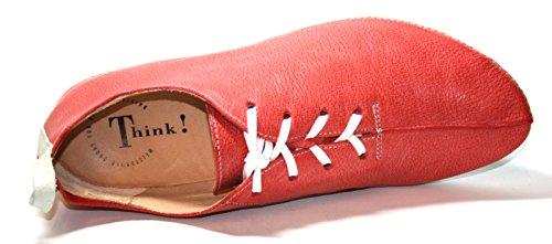 Think! - Scarpe chiuse Donna Rosso (Rot (campari/kombi 74))