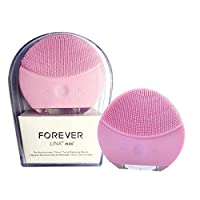 Forever Lina Mini Facial Cleansing Brush Pink