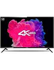 Onida 123.20 cm (50 inches) 4K UHD LED Smart TV 50UIB1 (Black)