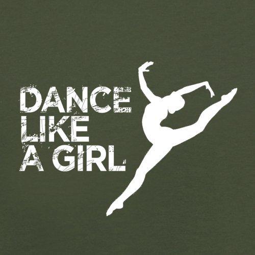 Dance Like A Girl - Herren T-Shirt - 13 Farben Olivgrün