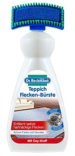 Dr. Beckmann Teppich Flecken-Bürste  (6x 650 ml) | Teppichreiniger zur Entfernung selbst hartnäckiger Flecken und Gerüche  | inkl. Bürstenapplikator