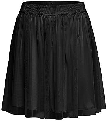 Only Onlfiona Short Tulle Skirt Wvn, Falda para Mujer