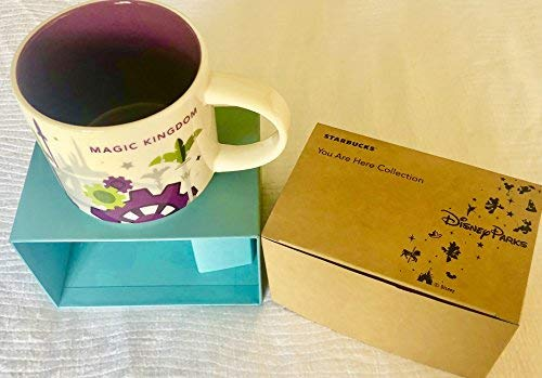 2018 Disney Magic Kingdom Version 3 SIE SIND HIER (Yah) Starbucks Tasse. NWT,