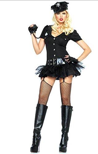 Gorgeous Patent Explosion Modelle Halloween-Kostüme Polizistin sailor ()