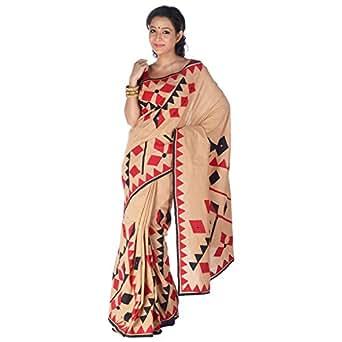Adhitiya Cotton Saree With Blouse Piece (Adh0003 -off-White)