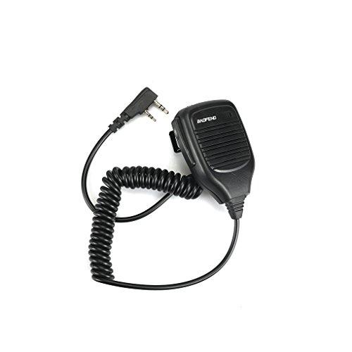 Baofeng PTT Lautsprecher Mic für Kenwood UV-5R TYT Retevis H777 Walkie Talkie Ham Radio Hf Transceiver - Ham-radio-lautsprecher