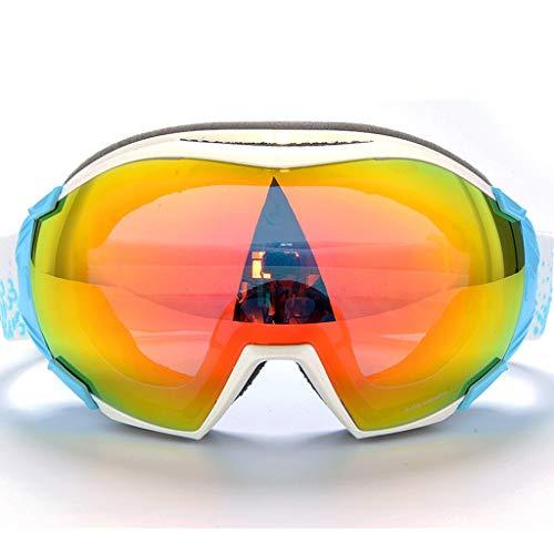 Schneegläser Anti-Fog Myopie Bergsteigen Outdoor-Brillen Ski Brille (Farbe : F)