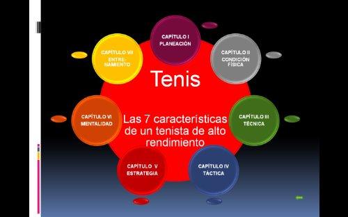 Las 7 caracteristicas de un tenista de alto rendimiento por Carlos Aguilera Aburto