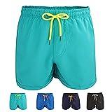 Kungber Homme Shorts de Bain Plage Natation Short Court de Sport Beach Séchage...