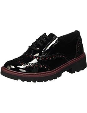 Geox J Casey Girl F, Zapatos de Vestir Niñas