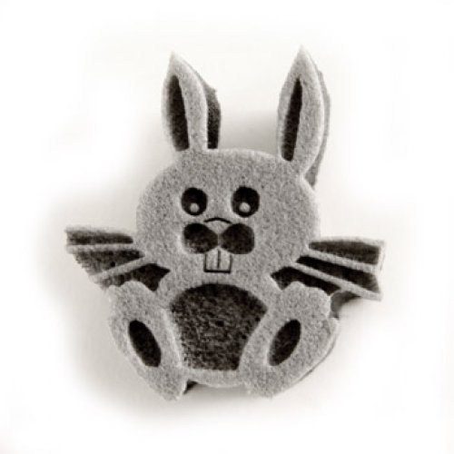 nrot Gesicht Malerei Briefmarken - Hase (Bunny Halloween Make Up)