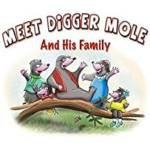 Dapper Mole And The Beaulieu Bus (Digger Mole Book 1)