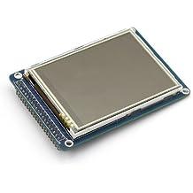 "SainSmart - Pantalla TFT LCD de 3,2"" para Arduino 2560 (panel táctil, adaptado PCB para tarjeta SD)"