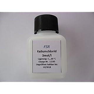 KCL 3 Mol Elektrolytlösung / Pufferlösung für Elektrode 2105 Aufbewahrungslösung