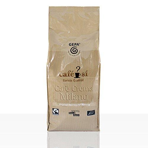 Gepa Café Si - Café Crema Milano - 1kg ganze Bohne Fairtrade