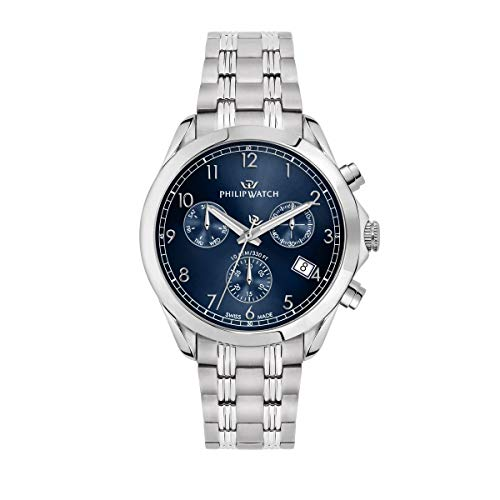 Philip Watch Men's Watch, Blaze Collection, Chronograph, Made of Stainless Steel - R8273665005