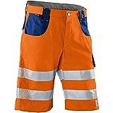 Kübler 23078340-3746-62 Shorts Reflectiq PSA 2, Warnorange/Kornblau, Größe 62