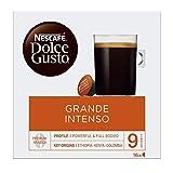Nescafé Dolce Gusto Cápsulas de café Grande Intenso - Pack de 3 x 16 Cápsulas - Total: 48 Cápsulas de café