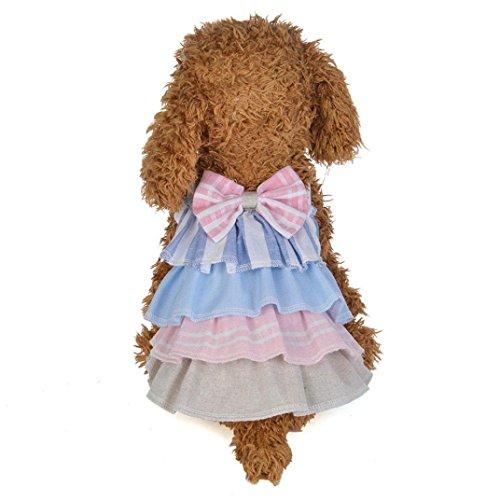 SunGren Falda para la Mascota de Primavera y Verano Vestido de Falda...