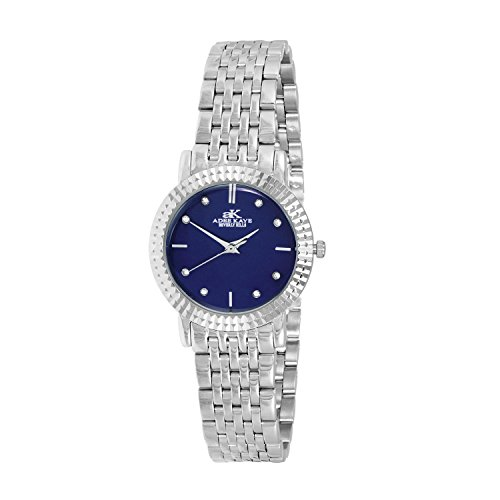 ADEE Kaye Women's Pure 27.92MM Steel Bracelet Swiss Quartz Watch AK4801-LBU