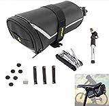 Hycy Fahrrad-Reifenpannen-Reparatur-Set Für Fahrrad-Fahrrad-Reifen-Pumpen-Flecken-Werkzeug-Installationssatz 7In1 Multi-Werkzeug Fahrrad-Zubehör-Satteltasche