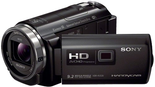 Sony PJ530E Full HD Camcorder with Built In Projector - Black