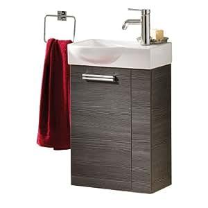 fackelmann wc avec meuble sous vasque de lavabo impression como 1 vier pin imitation but es. Black Bedroom Furniture Sets. Home Design Ideas