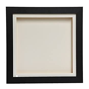 Cube Black 3d Deep Box Picture Frame Display Memory Box For Medals Memorabilia Flowers(a4) 0