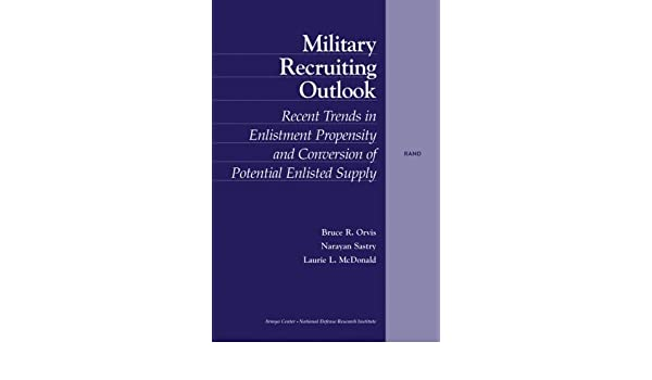 Military Recruiting: Trends, Outlook, and Implications: Trends, Outlook and Implications
