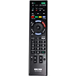 allimity RM-ED058 Replace Remote Control for Sony LED LCD 3D Plasma TV