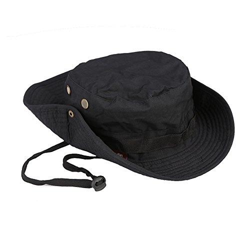Kopfbedeckungen Für Herren Unisex Erwachsene Belüftung Rindsleder Military Hüte Erholung Im Freien Urlaub Sonnenschutz Flachen Hut Sport Mode Männer Caps Elegant Im Stil