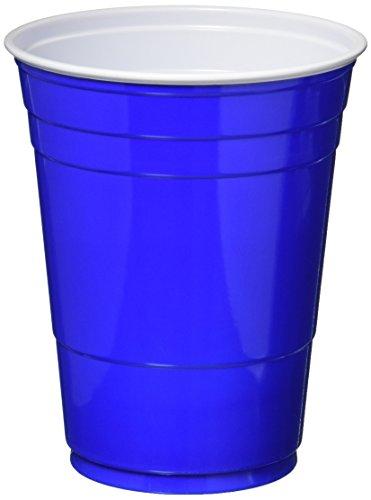 ups, 16 oz., Blue, 50/Pack ()