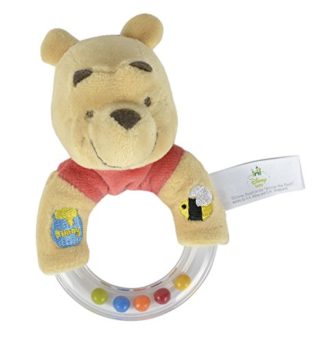 isney Winnie The Puuh Plüsch Ring Rassel (Disney Baby-tücher)