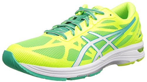 Asics Gel-DS Trainer 20 Synthétique Chaussure de Course Flash Yellow-White-Mint