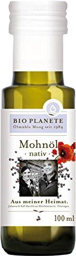 Bio Planete Bio Mohnöl nativ aus deutscher Herkunft (1 x 100 ml)