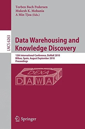Data Warehousing and Knowledge Discovery: 12th International Conference, DaWaK 2010, Bilbao, Spain, August 30 - September 2, 2010, Proceedings ... Applications, incl. Internet/Web, and HCI) (2010-08-18) par unknown